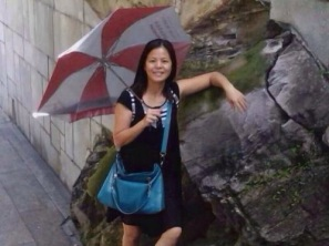 蘇昌蘭撐傘照